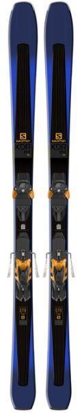 Горные лыжи Salomon D XDR 84 Ti + крепления Warden MNC13 Demo BK
