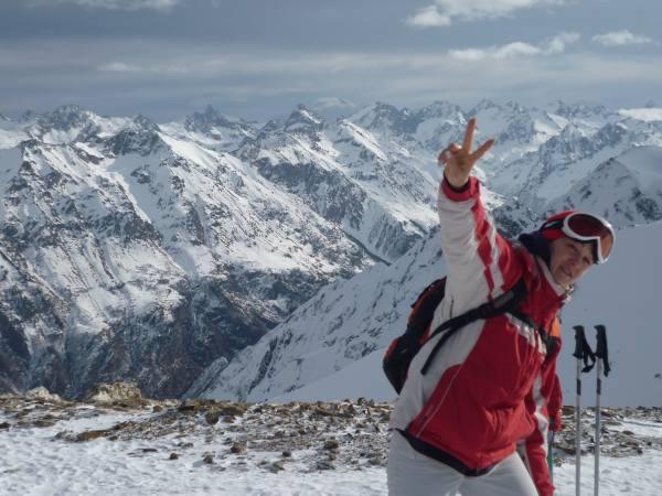 Екатерина Оськина - участница adidas Elbrus World Race