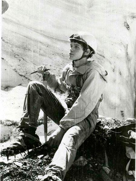 Сергей Ковалёв, Каш-Каташ, ледник в Адылсу, 1982 год
