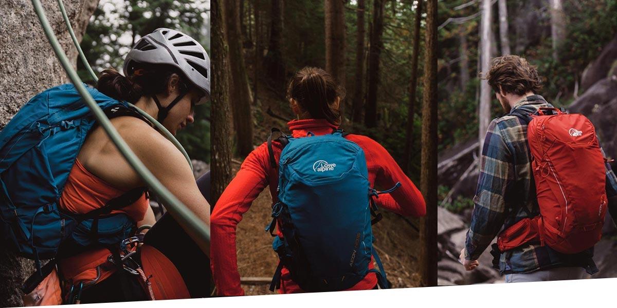 Мультифункциональный рюкзак Lowe Alpine Aeon