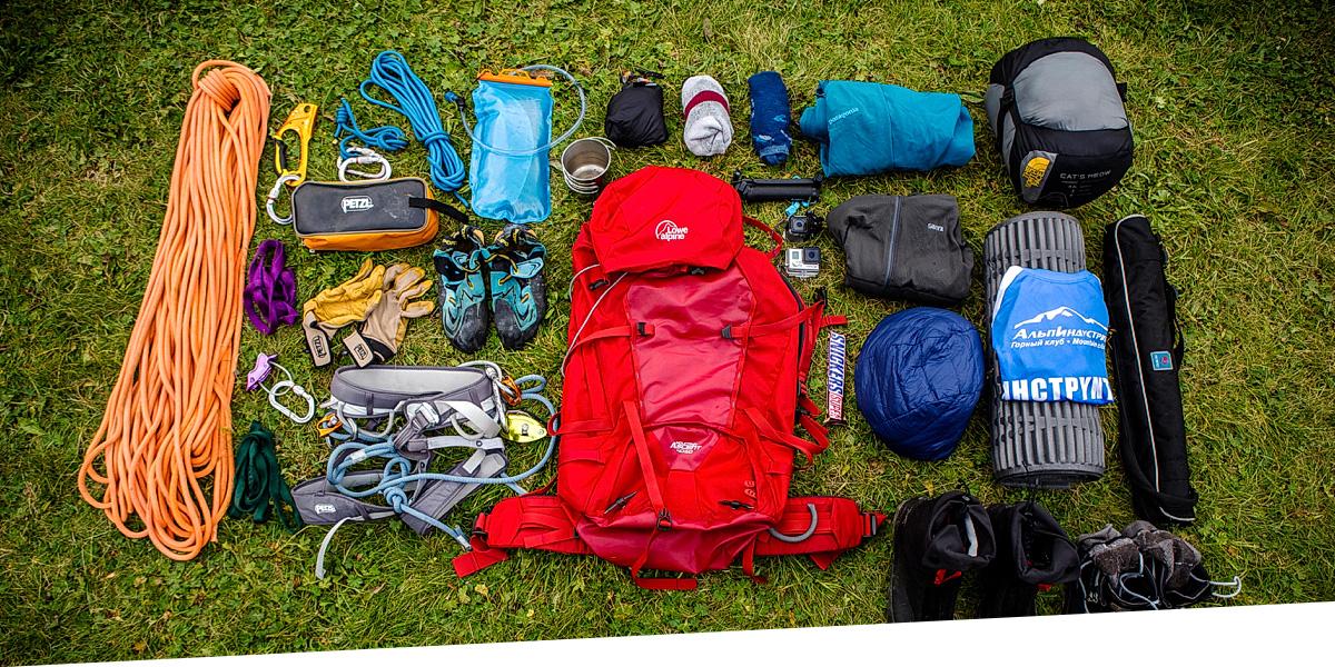 Тест рюкзака Lowe Alpine Mountain Ascent 40:50 при восхождении на Пти Дрю