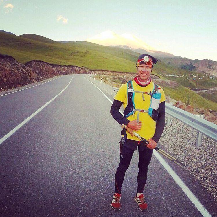 Павел Чернов - участник adidas Elbrus World Race