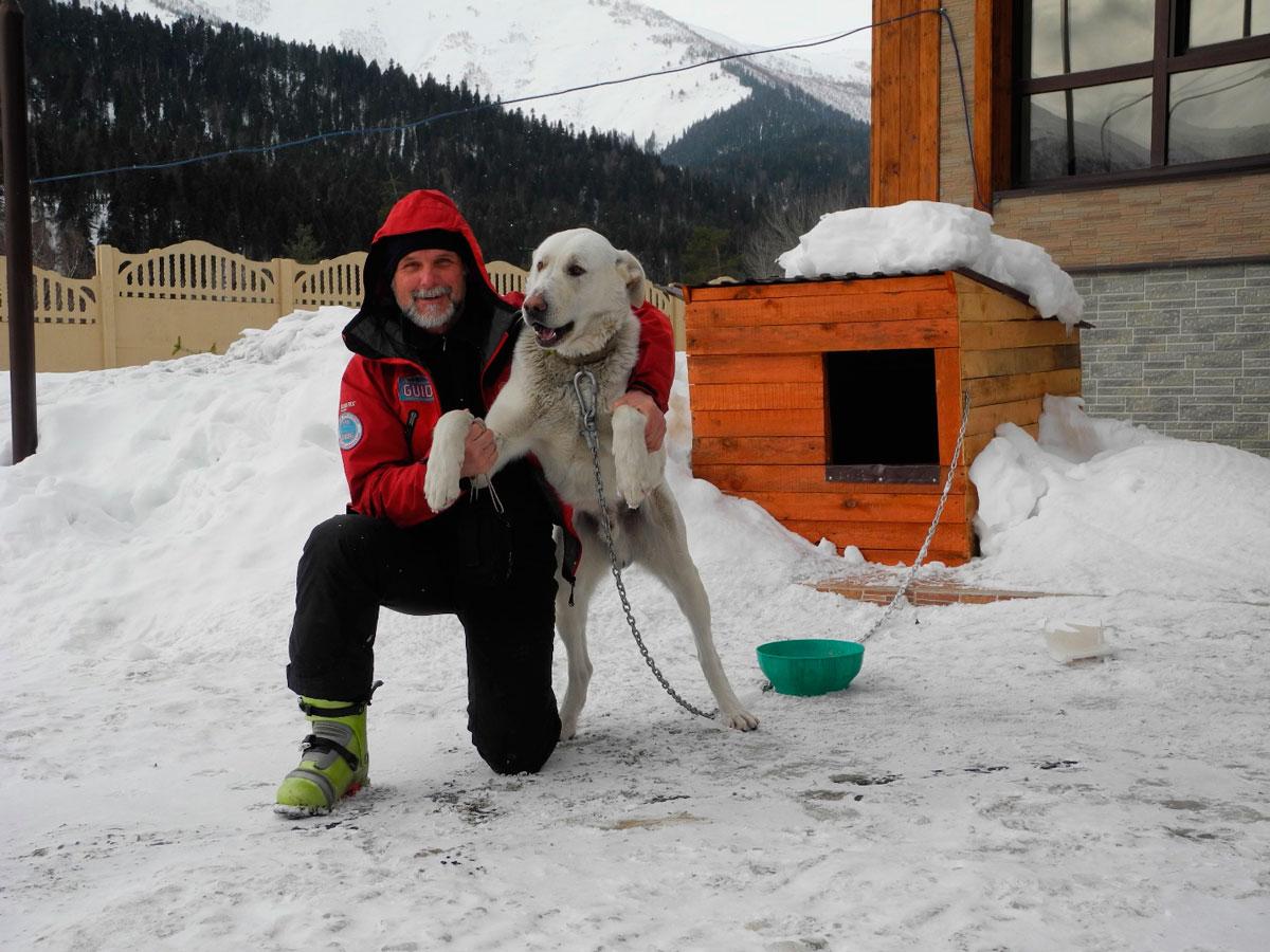 Ски-тур в Архызе - Сергей Романов
