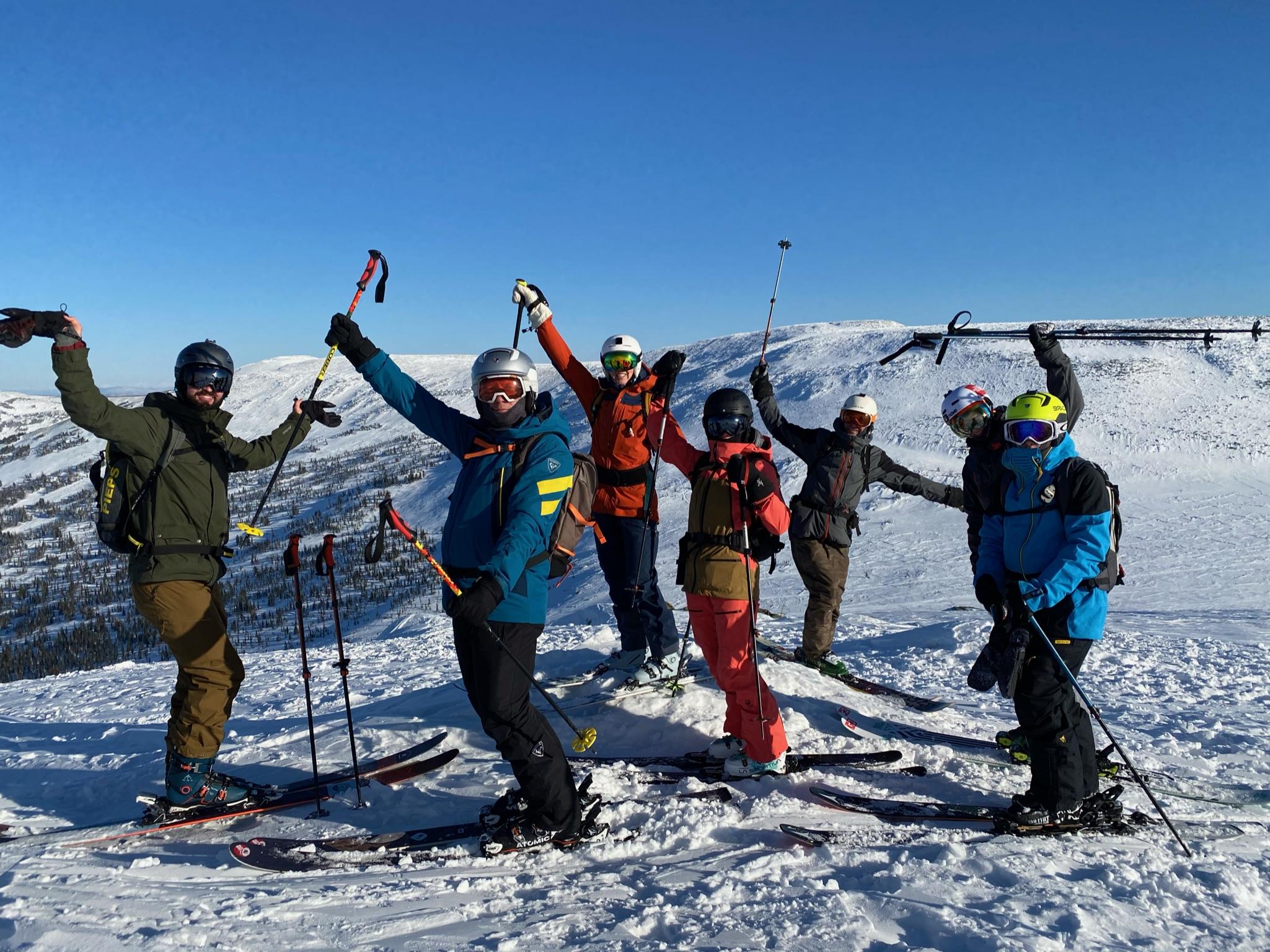 Ски-тур в Шерегеше