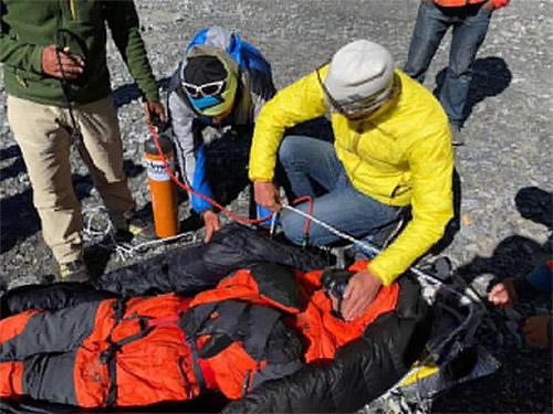 Спасение Чин Вуй Кина на Аннапурне © gimalayan-news.com