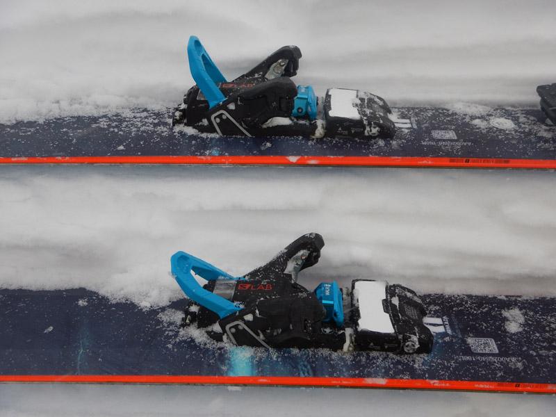 В режиме катания переключатель блокировки пинов обязательно нужно переводить в крайнее нижнее положение до защёлкивания, иначе есть варианты отломать.
