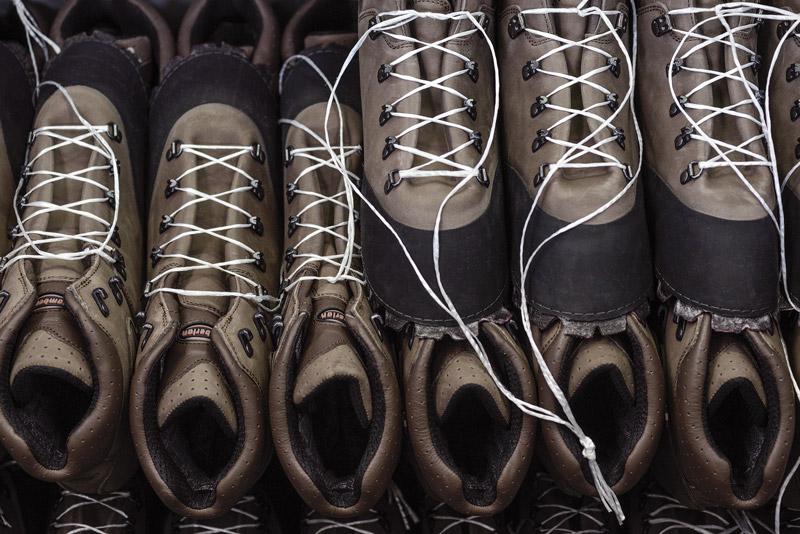 Ботинки Zamberlan в процессе производства