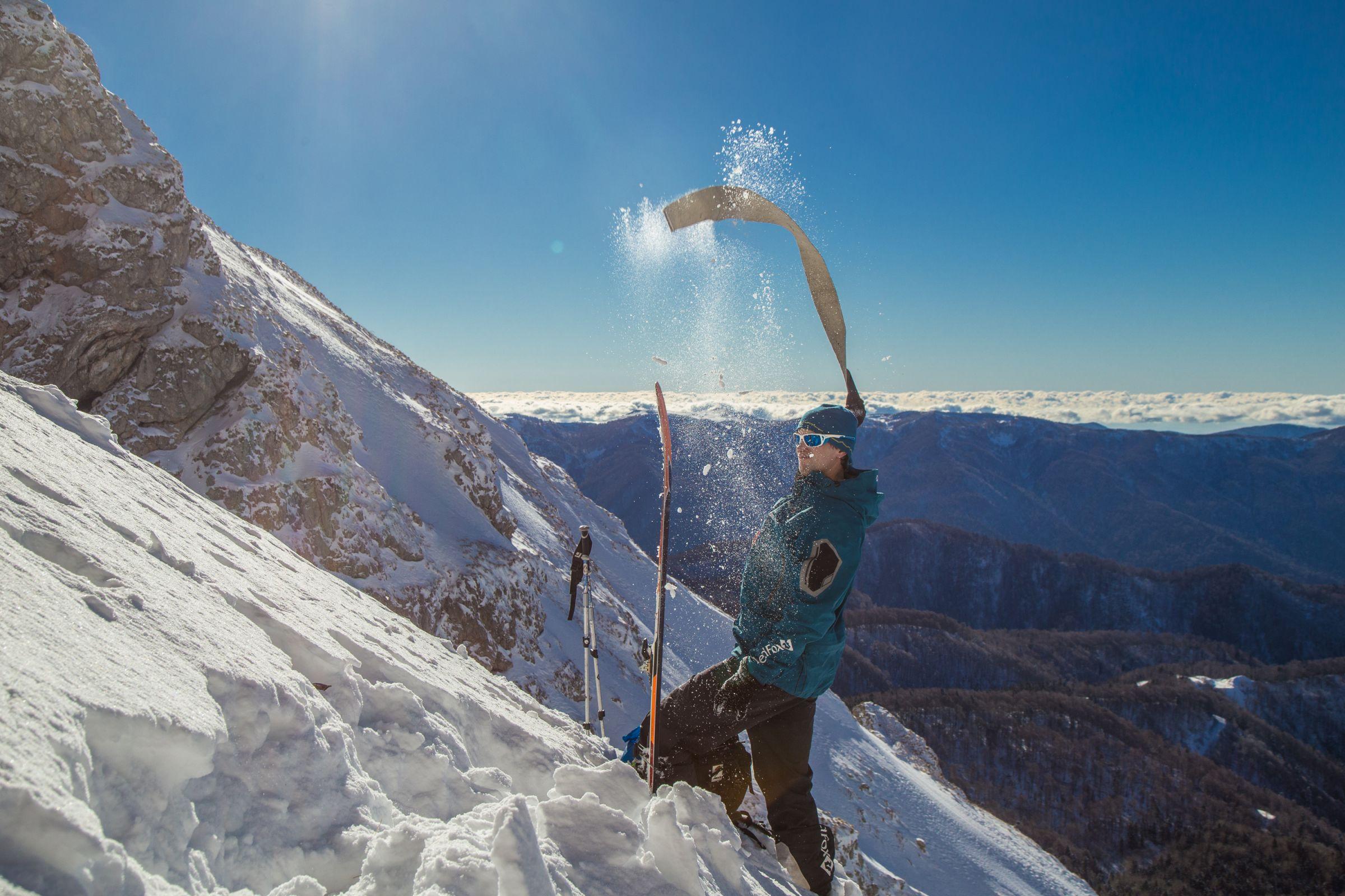 Список снаряжения для ски-тура: камус