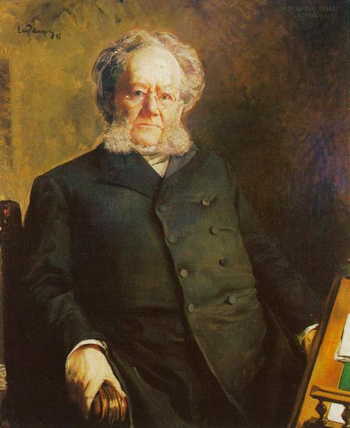 Впервые это слово было опубликовано в 1859 году в стихотворении известного норвежского драматурга Хенрика Ибсена (1828-1906) «О просторах»