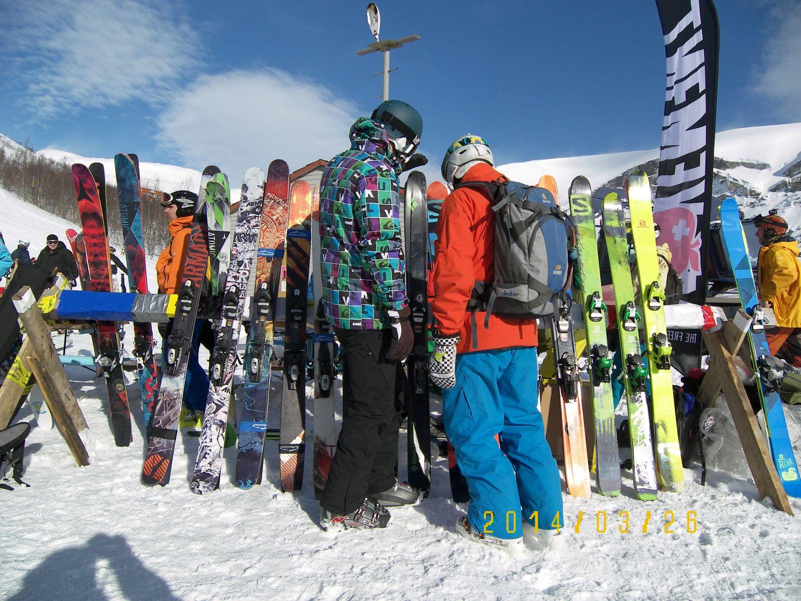 Мультитесты лыж по фрирайду в Кировске
