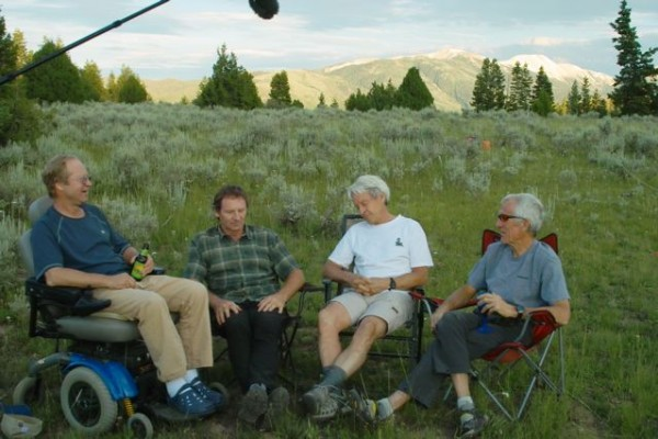 Джефф Лоу, Майкл Кеннеди, Джордж Лоу и Джим Донини. Встреча в июле 2010 года.