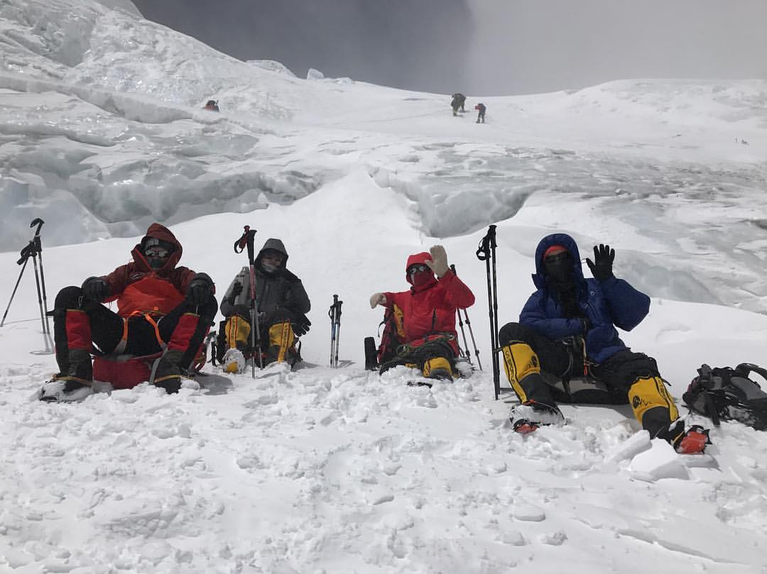 Команда АльпИндустрии - участники экспедиции Эверест-2017