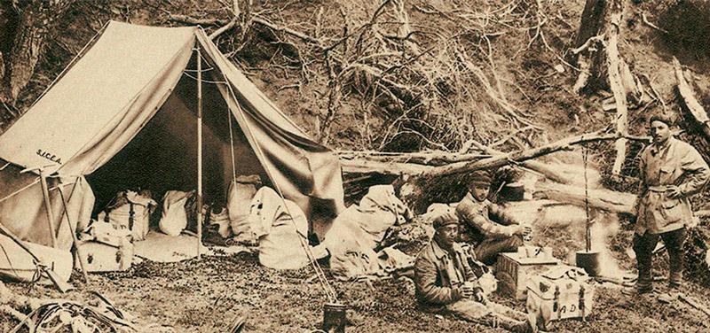 Палатка Ferrino Neghelli становится настоящей легендой после того, как миссионер, географ и исследователь Альберто Мария Де Агостини берёт её в свои экспедиции по Патагонии и Огненной Земле.
