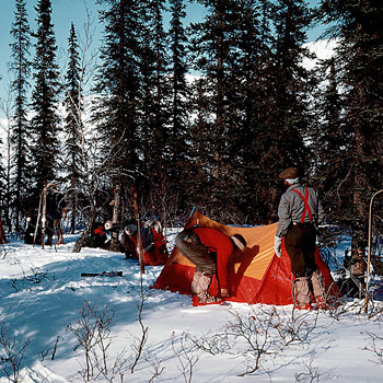1972 — Лыжный траверс Брукс-Рейндж