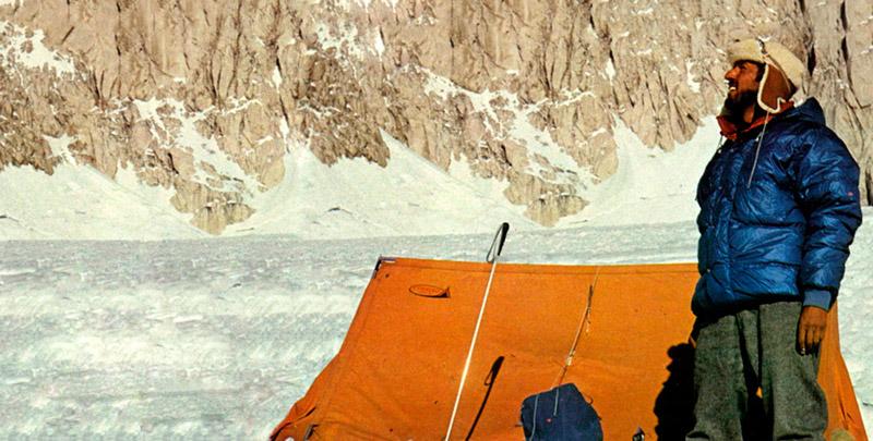 Ferrino создаёт изотермическую экспедиционную палатку Afghan весом всего 7,4 кг.