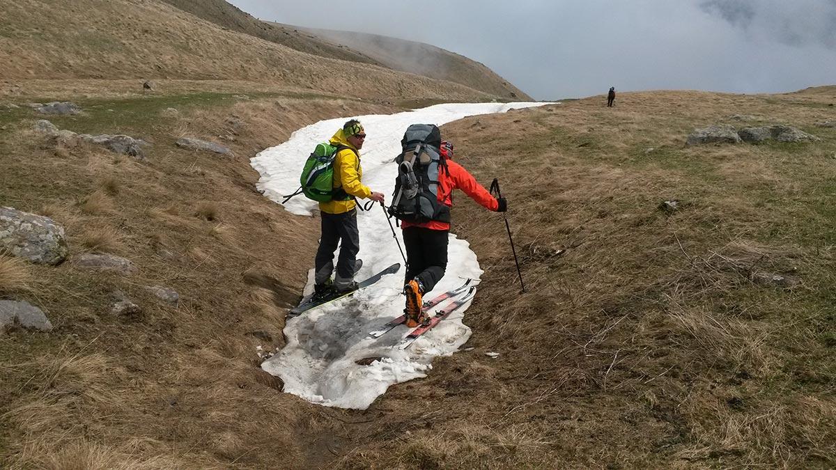 Восхождение на Казбек на ски-туре