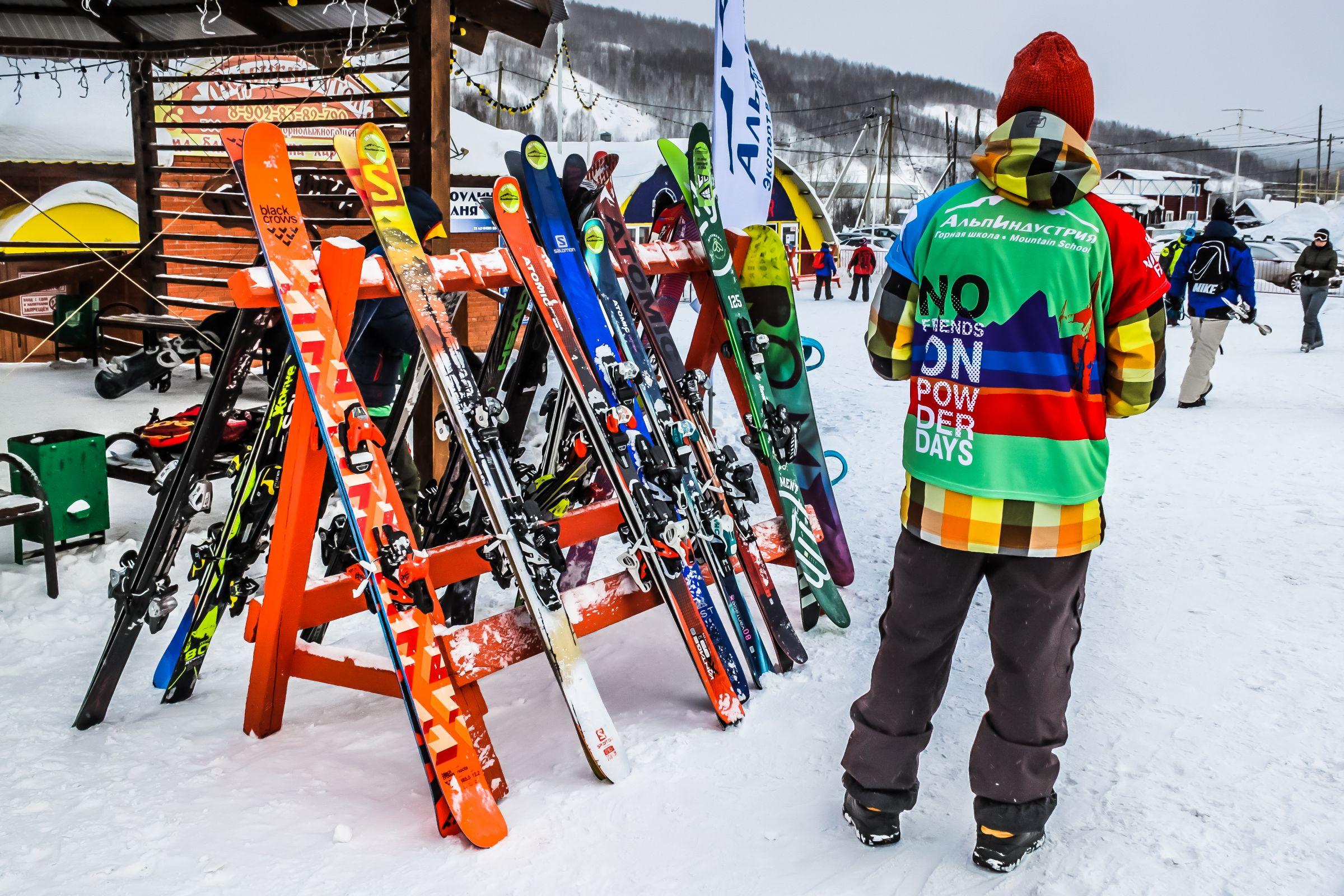 Бесплатные тесты лыж в Губахе