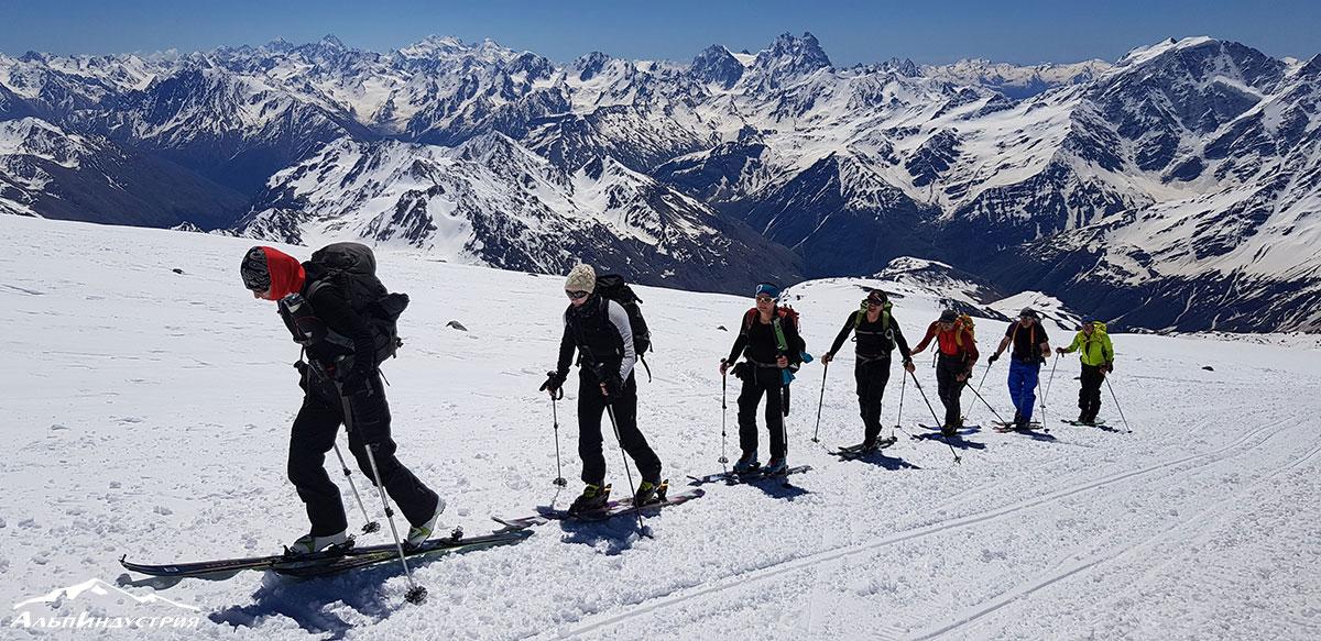 Ски-тур в Приэльбрусье