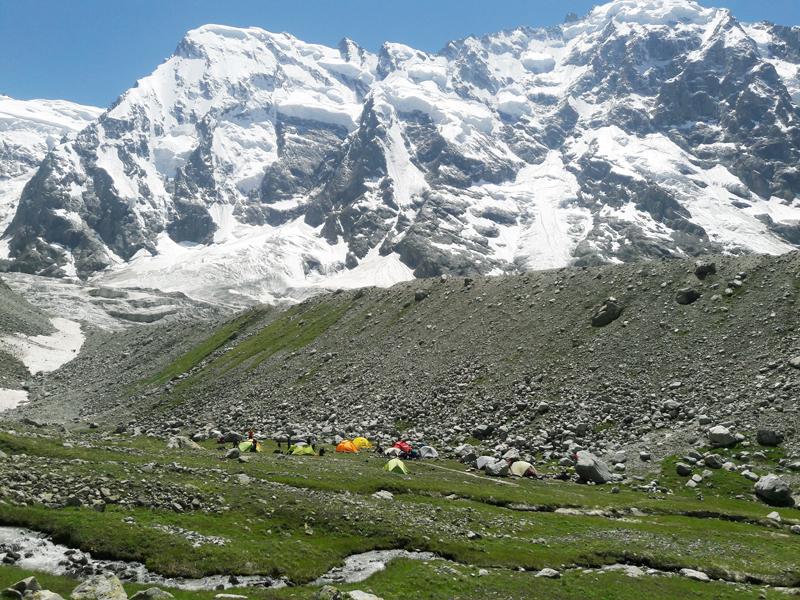сборы в альплагере безенги