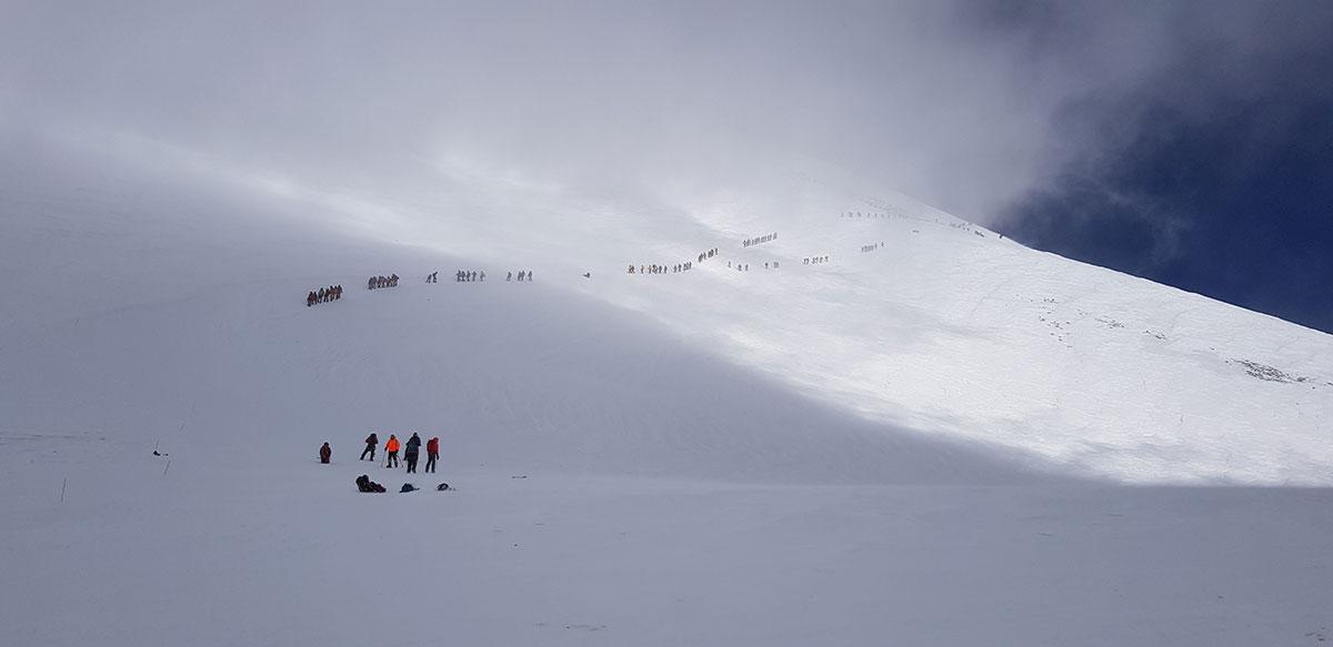 Восхождение на Эльбрус
