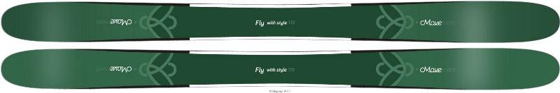 Горные лыжи Movement FLY 115