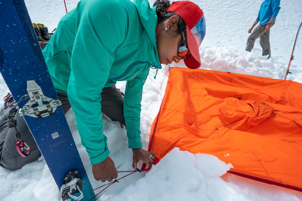 Настройка Front Range с лыжами