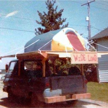 В 1973 году Ларри Пенберти решил протестировать новую горную палатку MSR Mountain Tent.