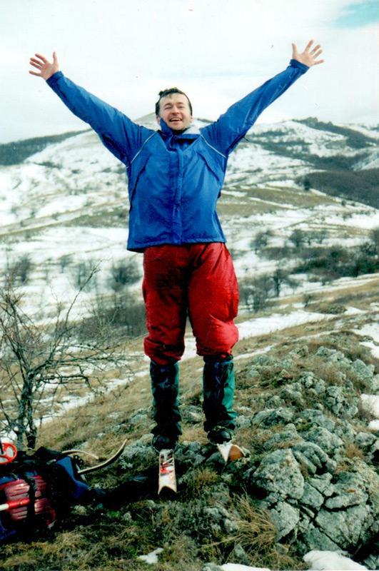 «О, лыжная школа? Это что ещё такое?», — и пошёл в лыжную школу.