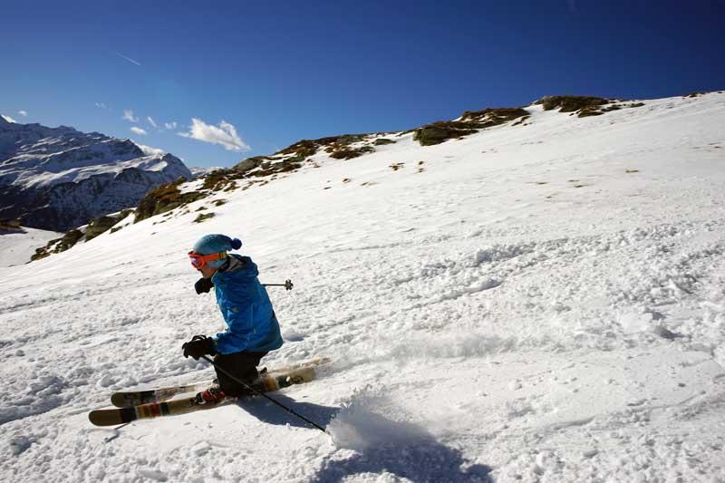 Универсальные лыжи