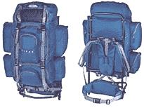 Походный рюкзак своими руками. Туристическое снаряжение. Большинство рюкзаков шьются из синтетических тканей
