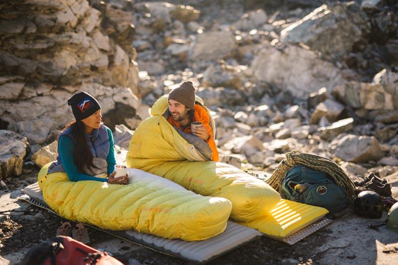 Как выбрать размер туристического коврика