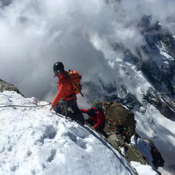 Мария Назарова в горах