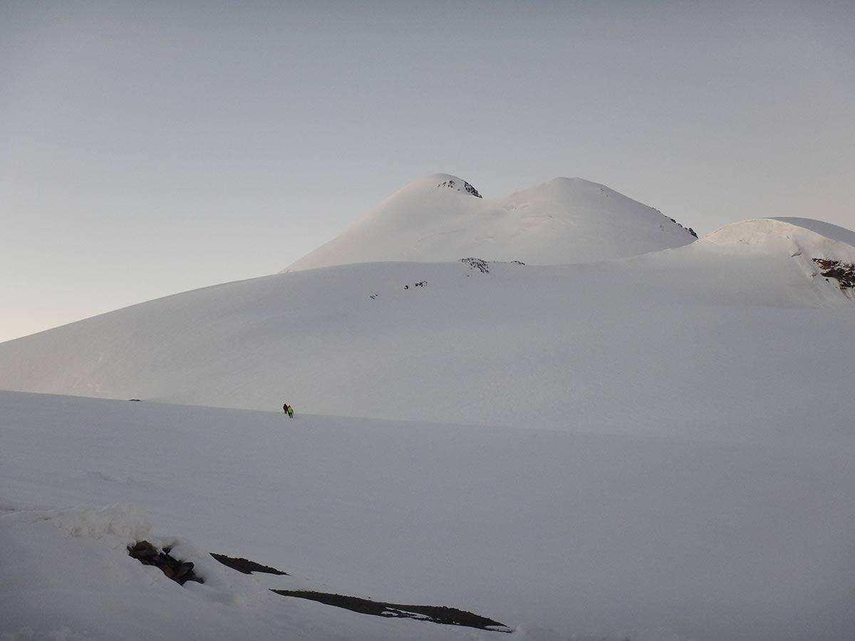 Восхождение на Казбек из Осетии