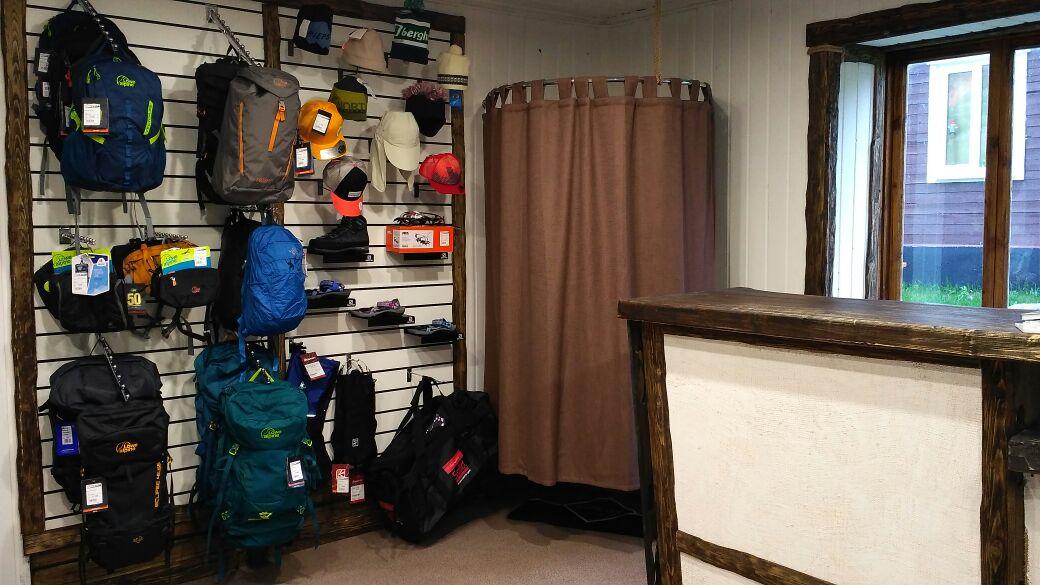 Магазин альпинистского и туристического снаряжения АльпИндустрия в Безенги