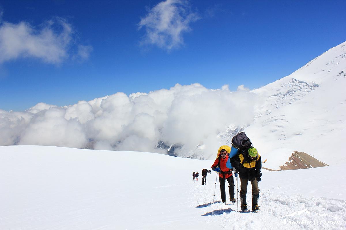 Двойные альпинистские ботинки
