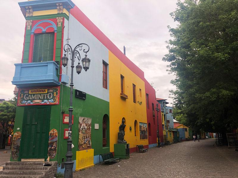 Говорят, La Boca — одна из лучших улиц города.
