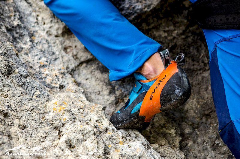 Испытания скальных туфель Evolv Shaman в Альпах: Пти-Дрю и Валле д'Аоста