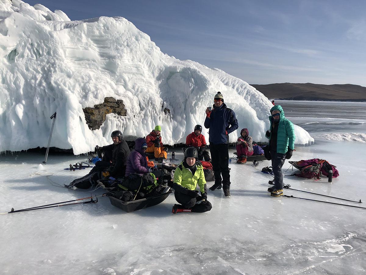 Байкал на коньках