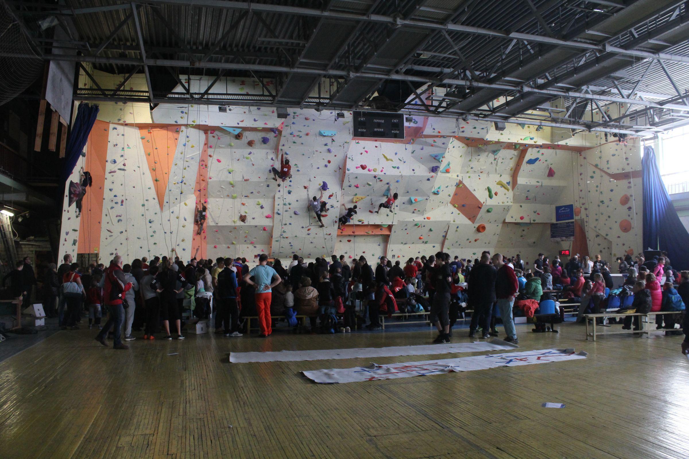 Фестиваль скалолазания в Воронеже