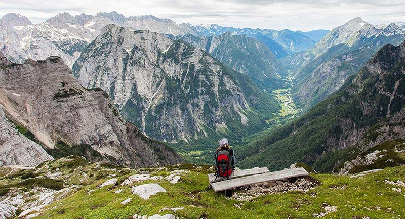 Треккинг в горной Словении