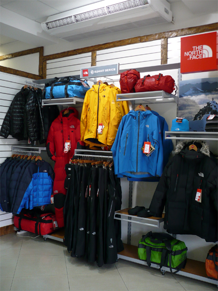 ������� The North Face � ����������