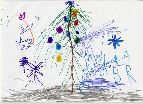 новый год рисунки: