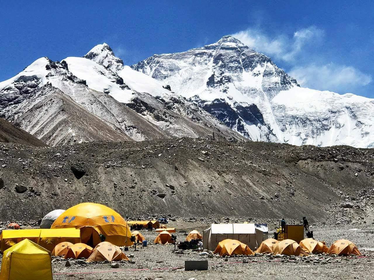 Эверест-2017: базовый лагерь