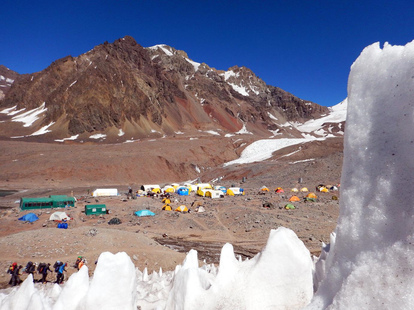 Лагерь Plaza de Mulas