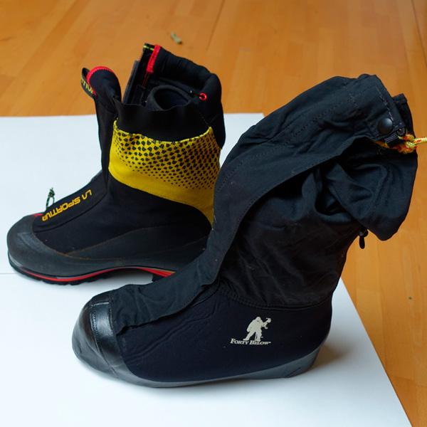 Ботинки для восхождения на Денали (Мак-Кинли)