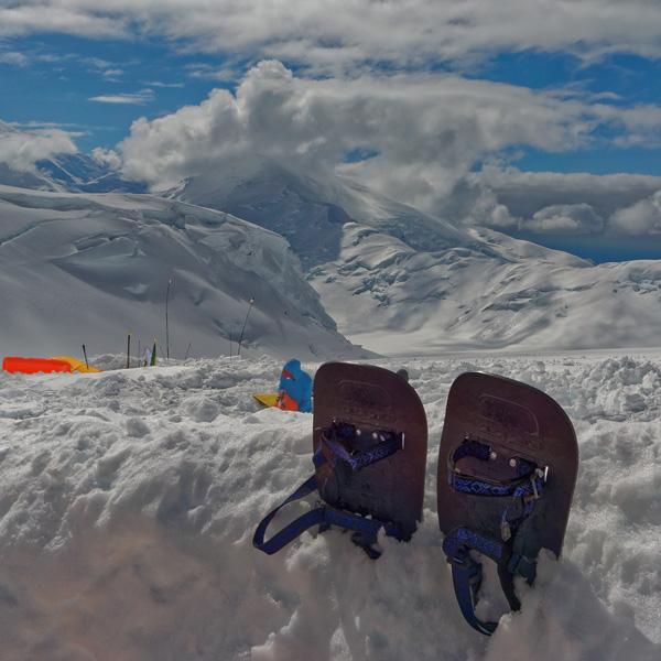 Снегоступы для восхождения на Денали (Мак-Кинли)