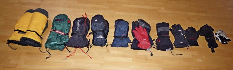 Альпинистские рукавицы и перчатки для восхождения на Денали (Мак-Кинли)