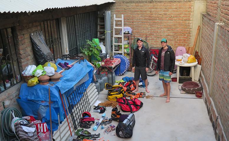 Экспедиция в горы Кордильера-Бланка в Перу 2016 году. Фото: Steve Skelton.