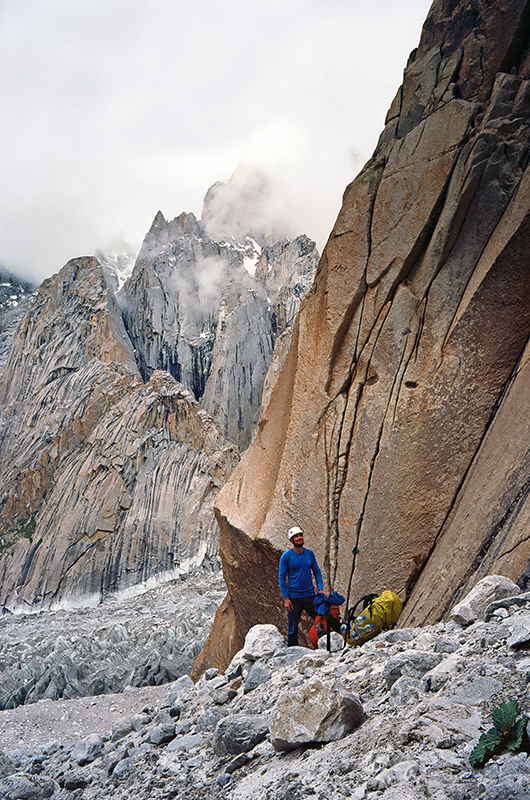 В базовом лагере. Trango Great и Trango Nameless