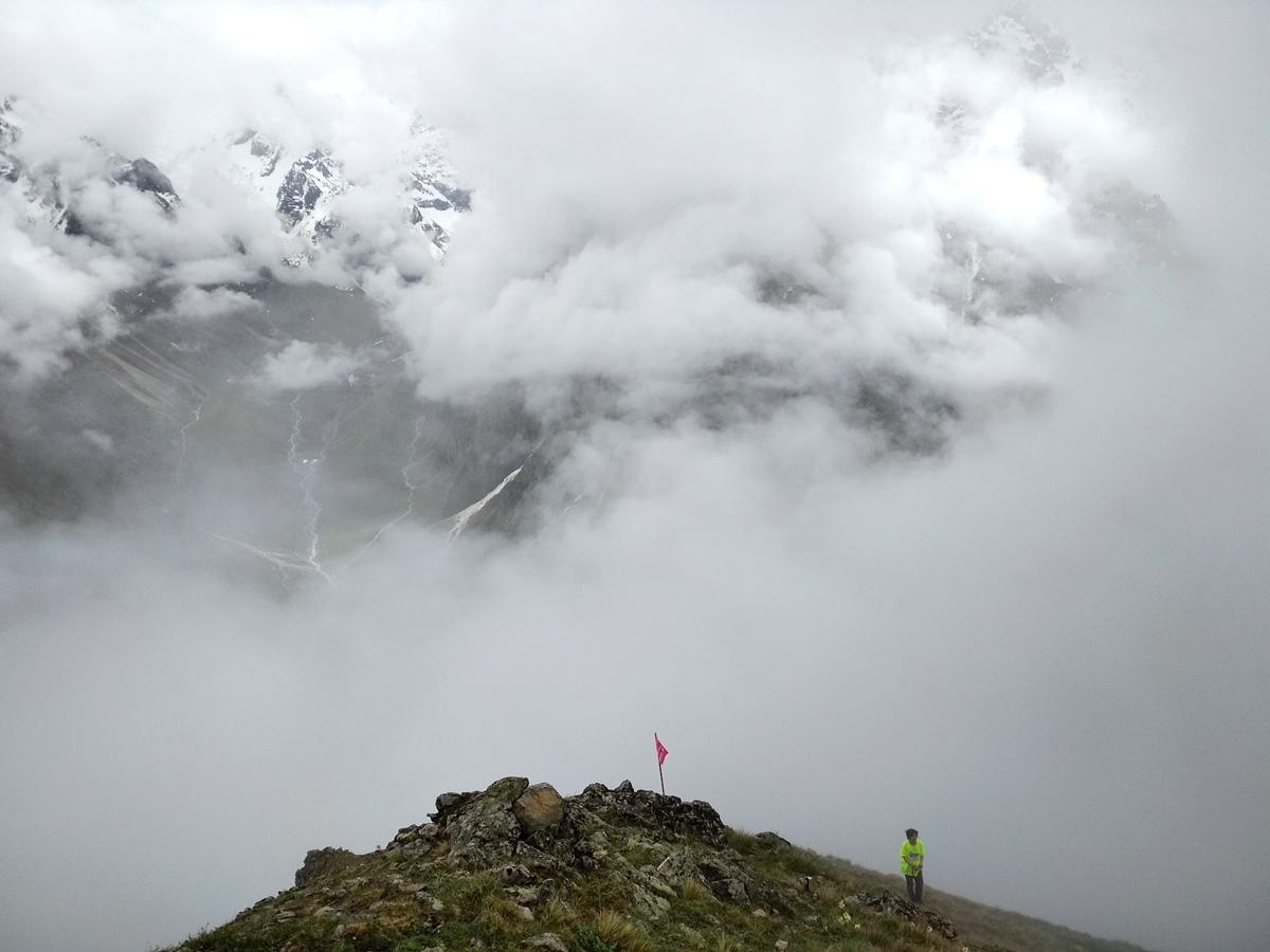 Вертикальный километр Безенги 2017